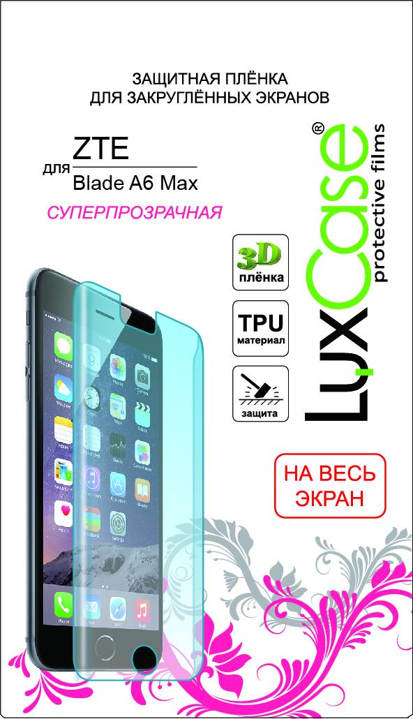 LuxCase защитная пленка на весь экран для ZTE Blade A6 Max luxcase защитная пленка для zte blade a6 суперпрозрачная