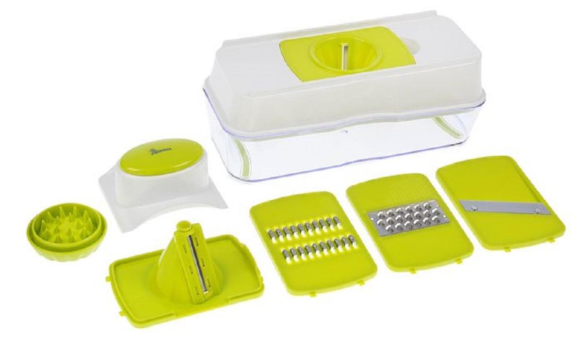 Терка предназначена для нарезки овощей для различных салатов и холодных закусок. Простота приспособления поражает. Шинковка изготовлена из зкологически чистого сырья. Острые лезвия