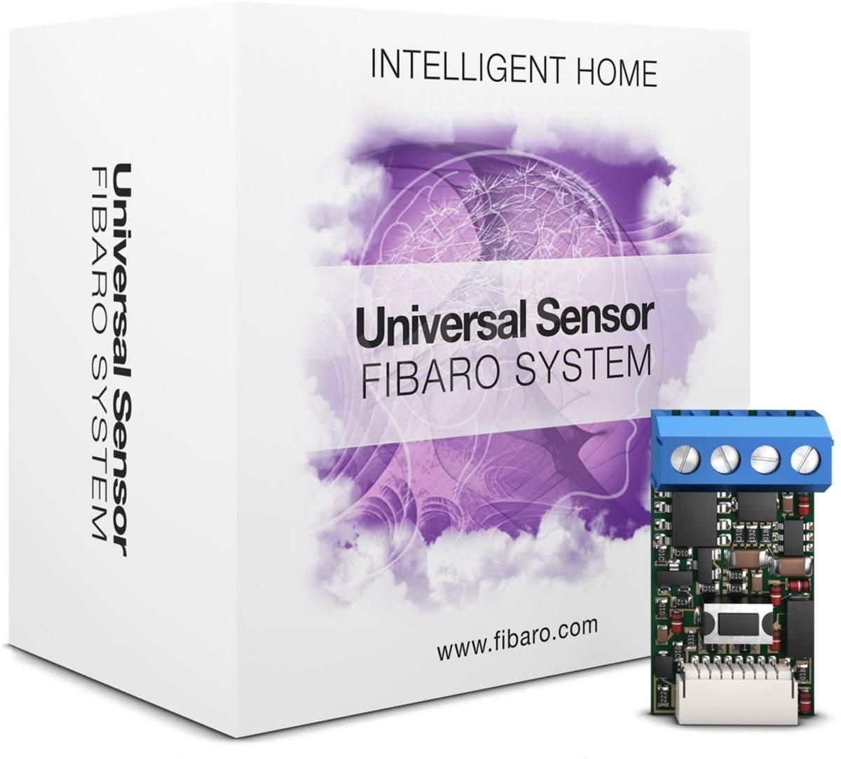 Fibaro BINARY SENSOR UNIVERSAL FGBS-001, Black устройство умного дома