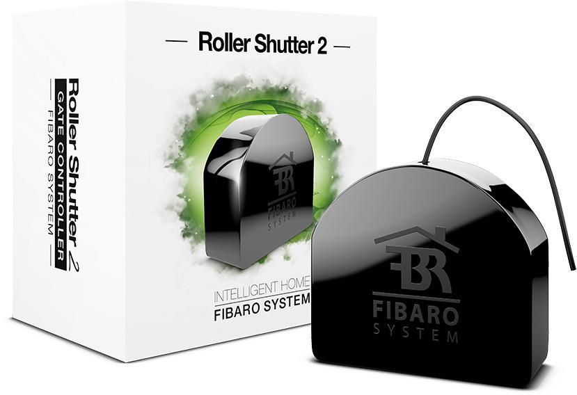Fibaro ROLLER SHUTTER 2 FGR-222, Black устройство умного дома 1setx original new pickup roller feed exit drive for fujitsu scansnap s300 s300m s1300 s1300i