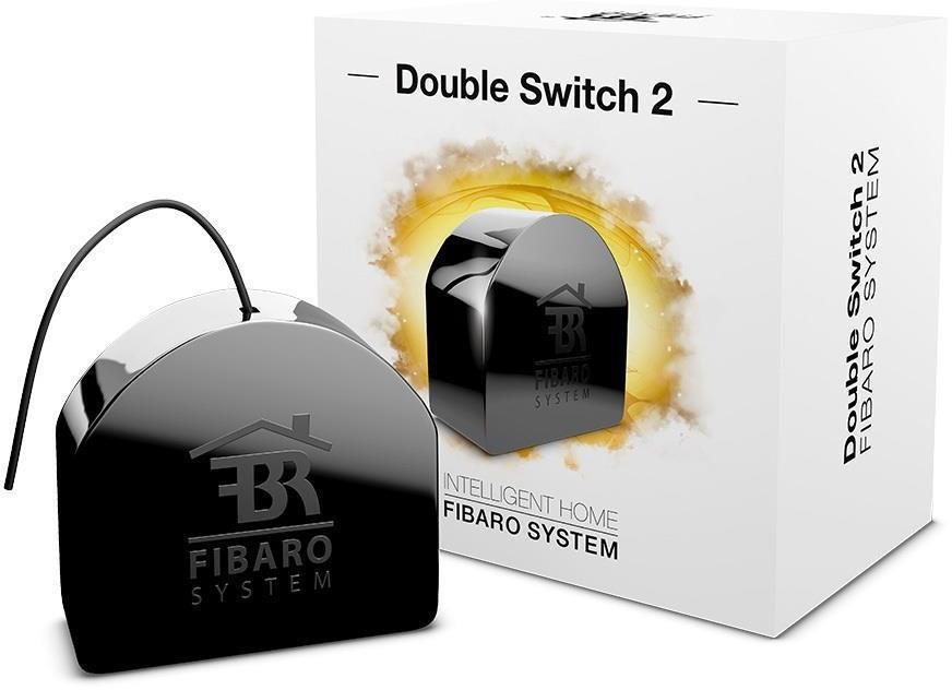 Fibaro DOUBLE SWITCH 2 FGS-223 ZW5, Black устройство умного дома