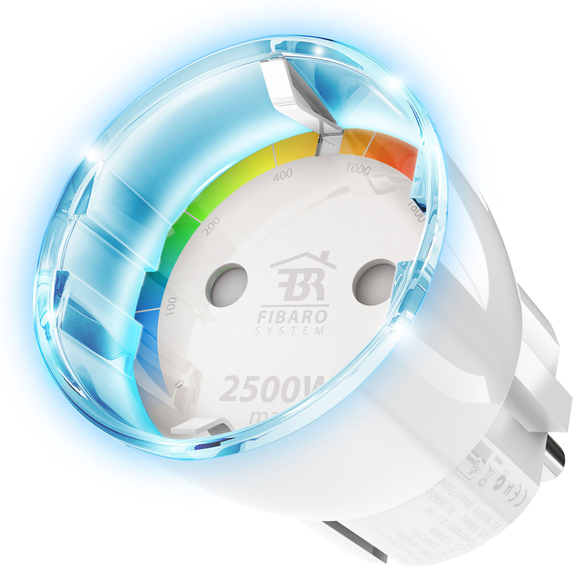 Fibaro WALL PLUG TYPE F FGWPF-102 ZW5, White устройство умного дома family wall quote removable wall stickers home decal art mural