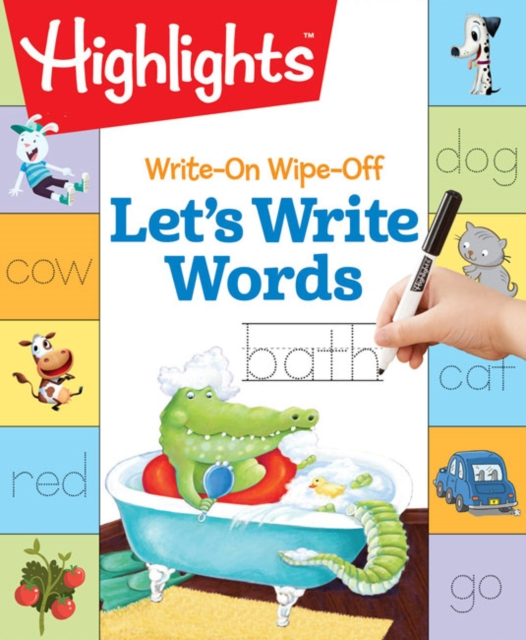 Let's Write Words early learning everyday words