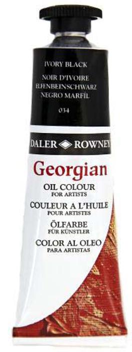 Daler Rowney Краска масляная Georgian цвет кость жженая 38 мл