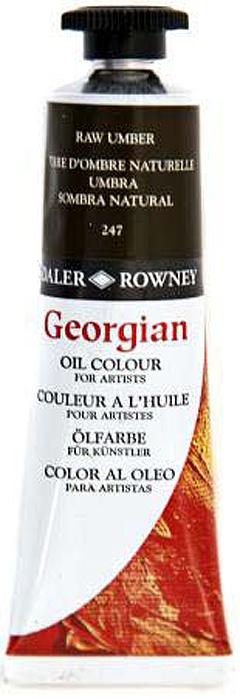 Daler RowneyКраска масляная Georgian цвет умбра натуральная 38 мл Daler Rowney