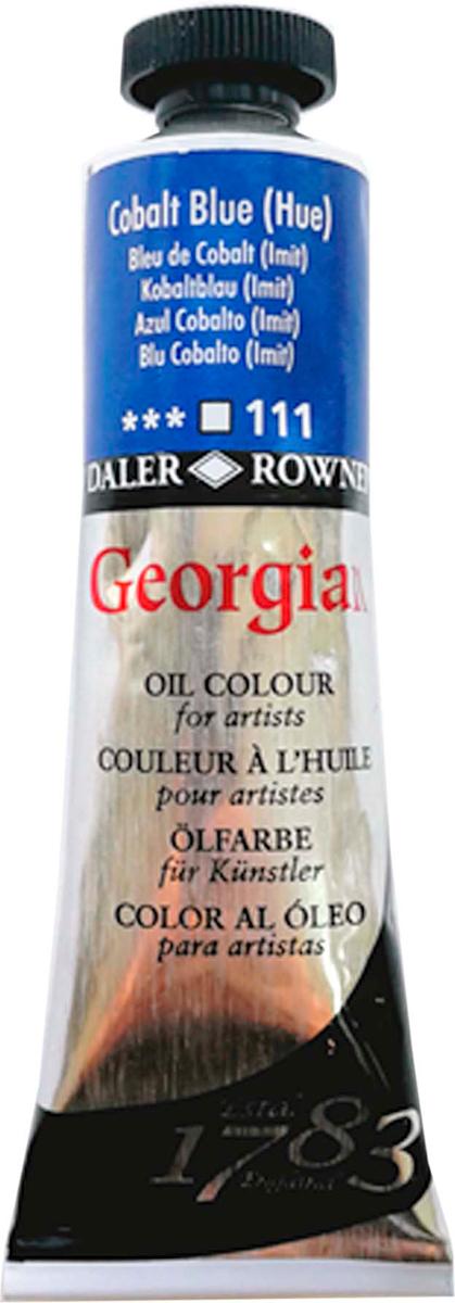 Daler Rowney Краска масляная Georgian цвет кобальт синий (имитация) 38 мл