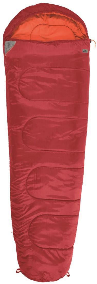 Спальный мешок-кокон EasyCamp Cosmos, цвет: красный, 210 х 75 х 50 см спальные конверты lodger мешок newborn scandinavian