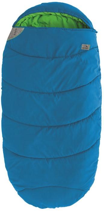 Спальный мешок-кокон подростковый EasyCamp Ellipse Junior, цвет: голубой, 160 х 75 см