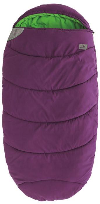 Спальный мешок-кокон подростковый EasyCamp Ellipse Junior, цвет: фиолетовый, 160 х 75 см