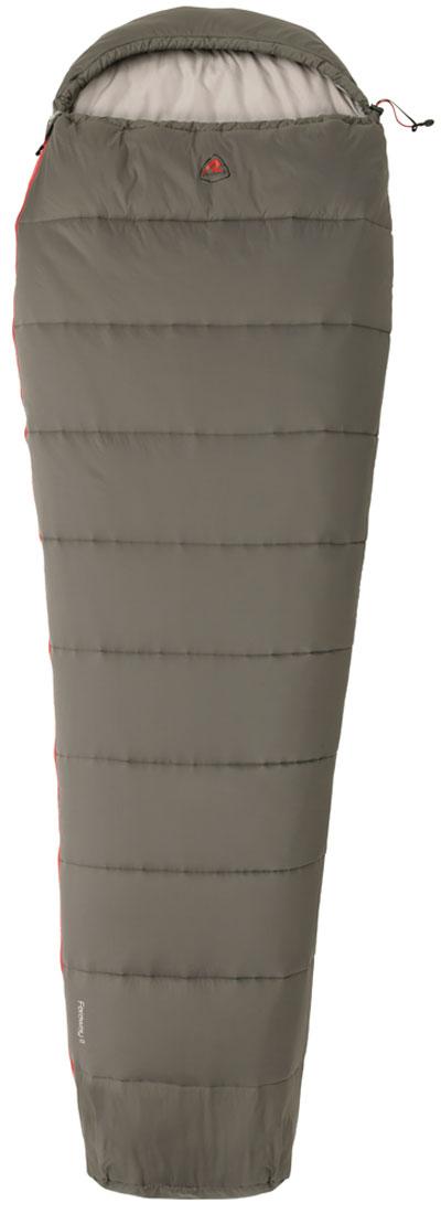 Спальный мешок-кокон Robens FarAway I, цвет: серый, правосторонняя молния, 220 х 75 х 52 см спальные конверты lodger мешок newborn scandinavian