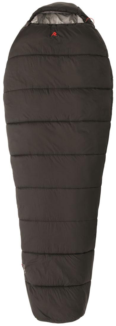 Спальный мешок-кокон Robens Glacier I, правосторонняя молния, цвет: черный, 220 х 85 х 55 см спальные конверты lodger мешок newborn scandinavian