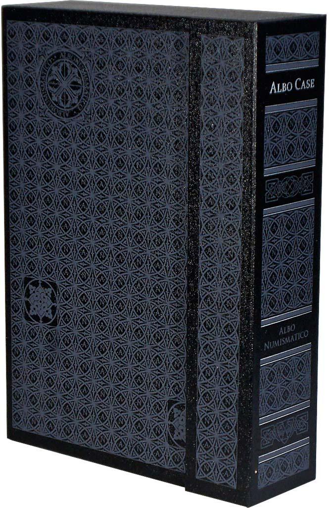 Albo Case - система хранения монет в квадратных капсулах. На 4 кассеты. Лимитированная серия, Albo Numismatico