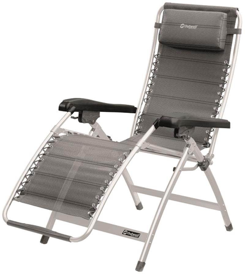 Кресло-шезлонг складное Outwell Hudson Relax Chair кресло шезлонг складное стандарт пластик групп шезлонг 1 610х900х930 мм