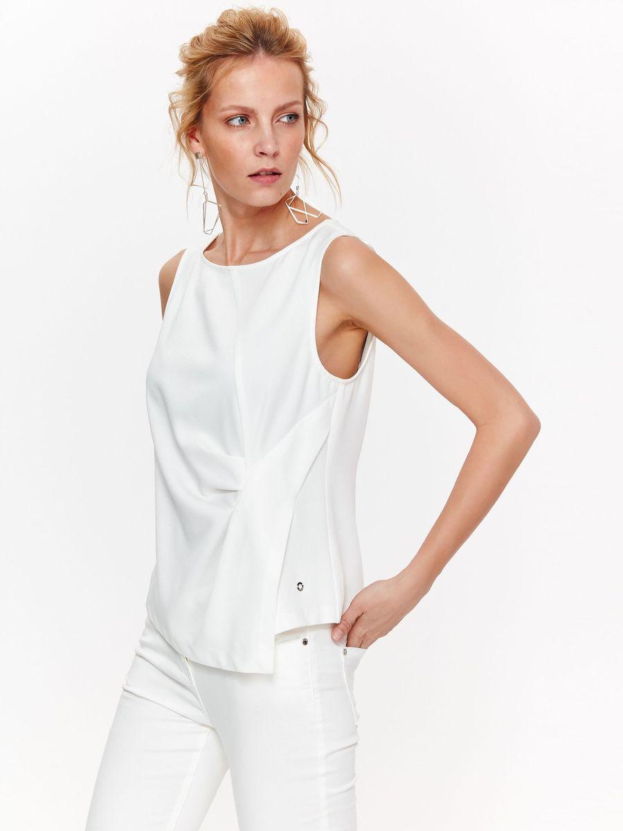 Блузка женская Top Secret, цвет: белый. SBW0386BI. Размер 42 (50) блузка quelle top secret 1033699
