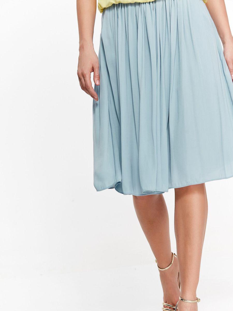 Юбка женская Top Secret, цвет: голубой. SSD1197NI. Размер 42 (50)