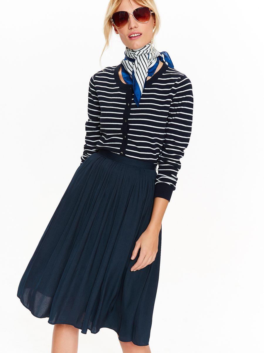 Фото Юбка женская Top Secret, цвет: темно-синий. SSD1196GR. Размер 42 (50)