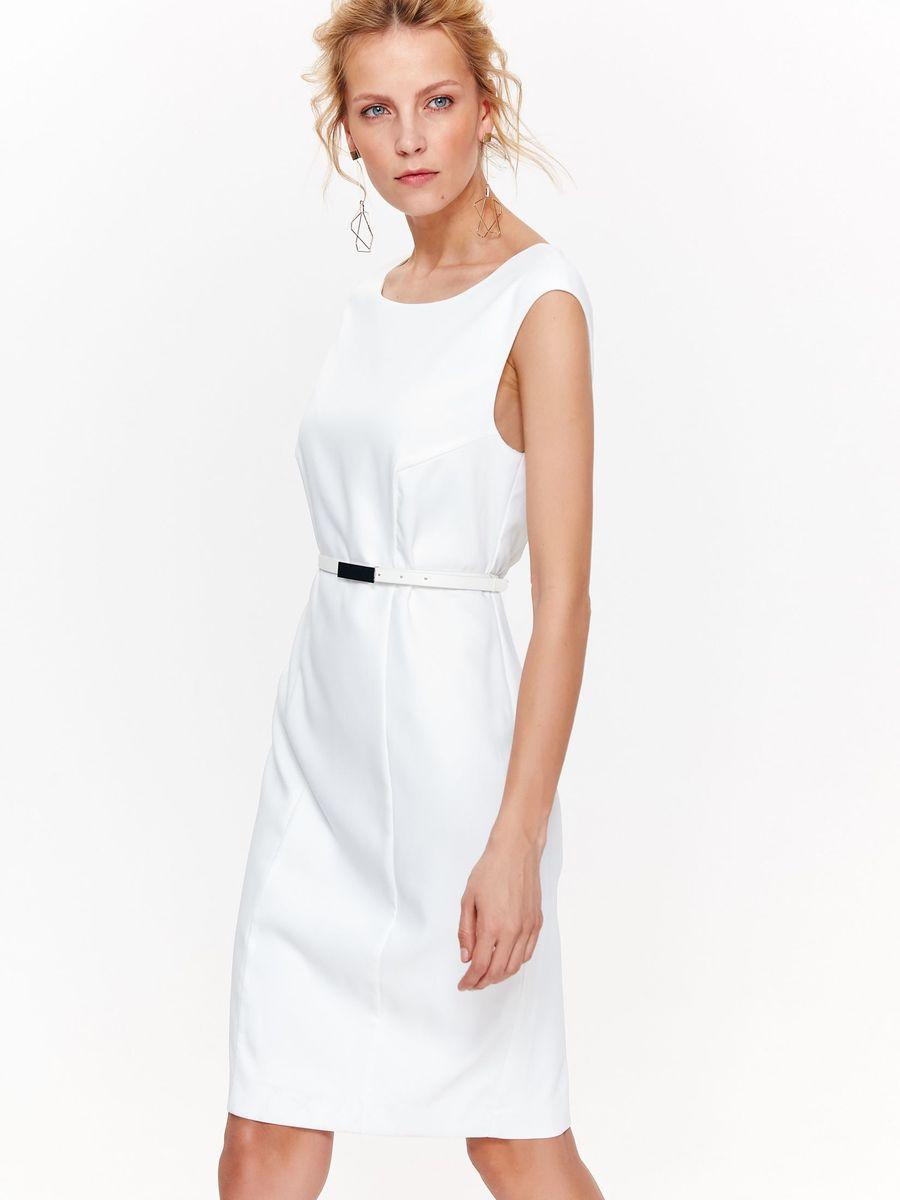 Купить Платье женское Top Secret, цвет: белый. SSU2090BI. Размер 42 (50)