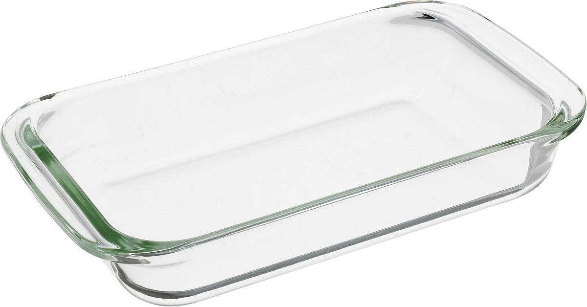Материал: термостойкое стекло. Объем: 1 л. Толщина 4 – 5 мм. Подходит для использования в духовке (газовой или электрической), микроволновой печи, в холодильнике и морозильнике. Можно мыть в посудомоечной машине.