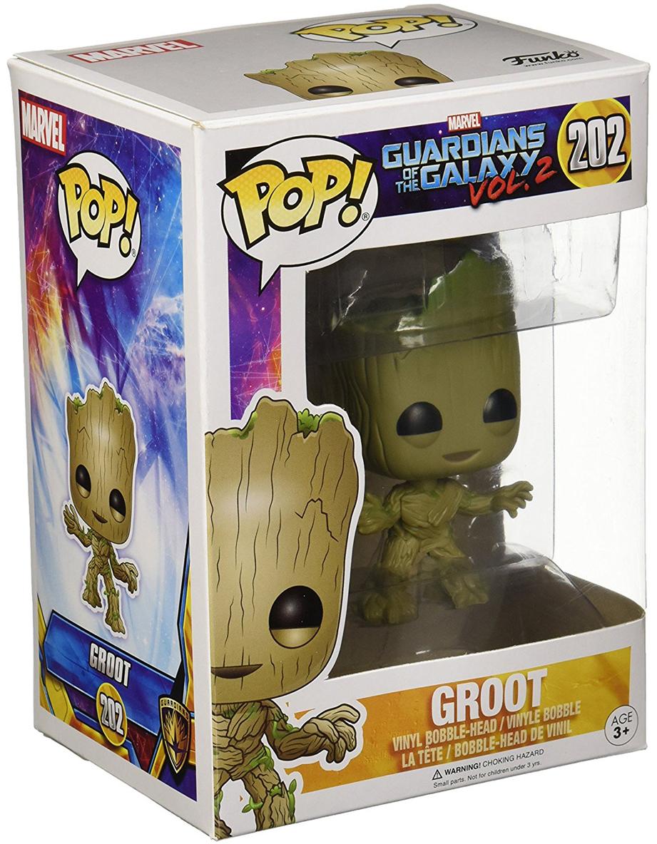 Funko POP! Bobble Фигурка Guardians of the Galaxy 2: Groot брелок funko pop marvel guardians of the galaxy – baby groot