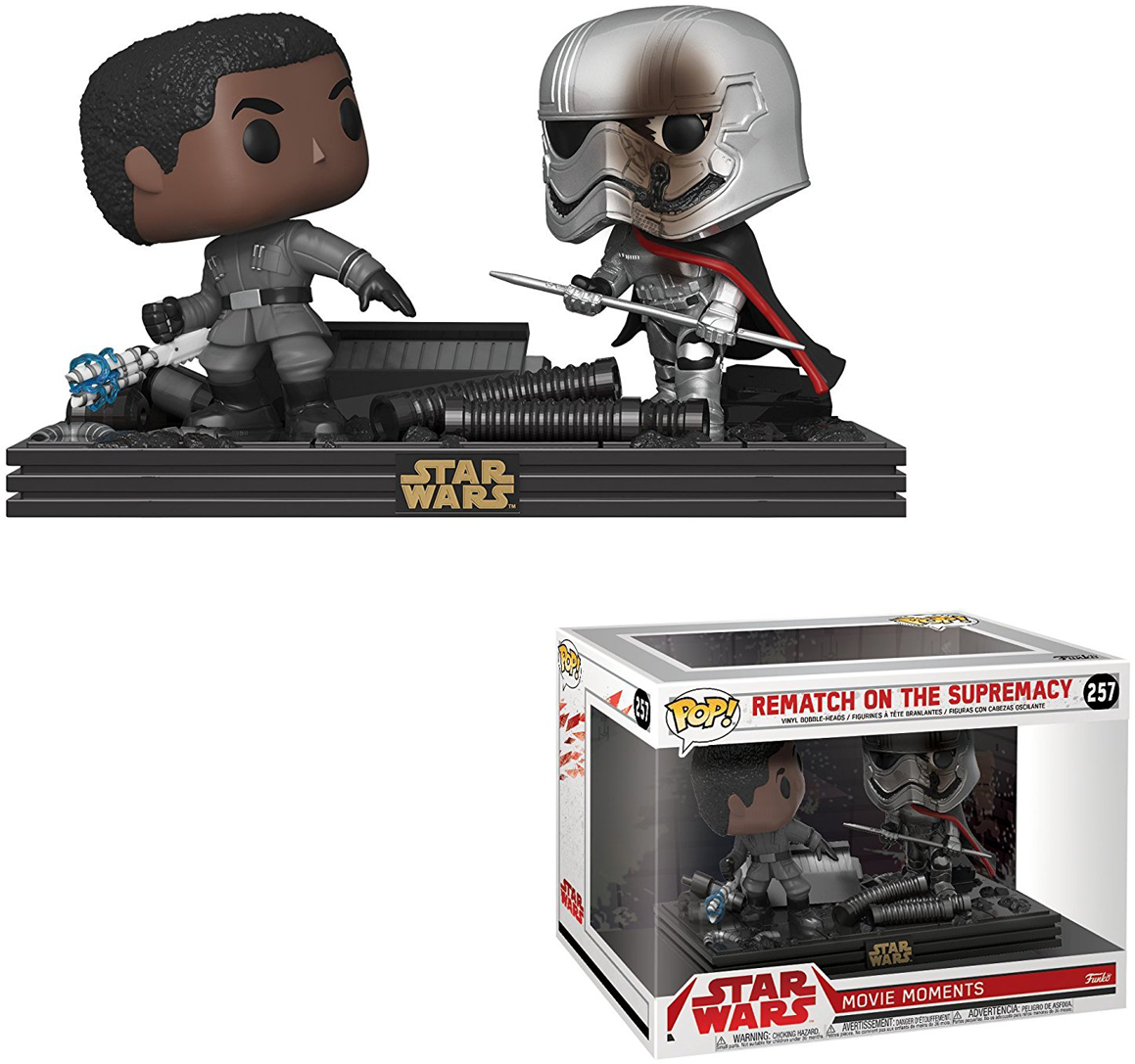 Funko POP! Vinyl Фигурка Star Wars Movie Moments The Last Jedi: Duel фигурка the last knight 1 step grimlock transformers