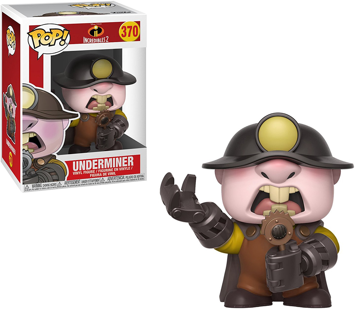 Funko POP! Vinyl Фигурка Disney Incredibles 2: Underminer термоноски guahoo everyday middle 51 0633 cw dgy