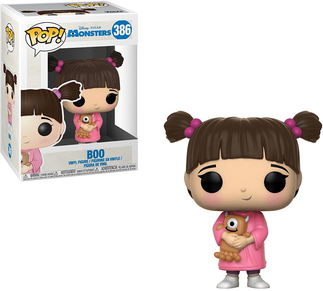 где купить Funko POP! Vinyl Фигурка Disney Monsters, Inc.: Boo дешево