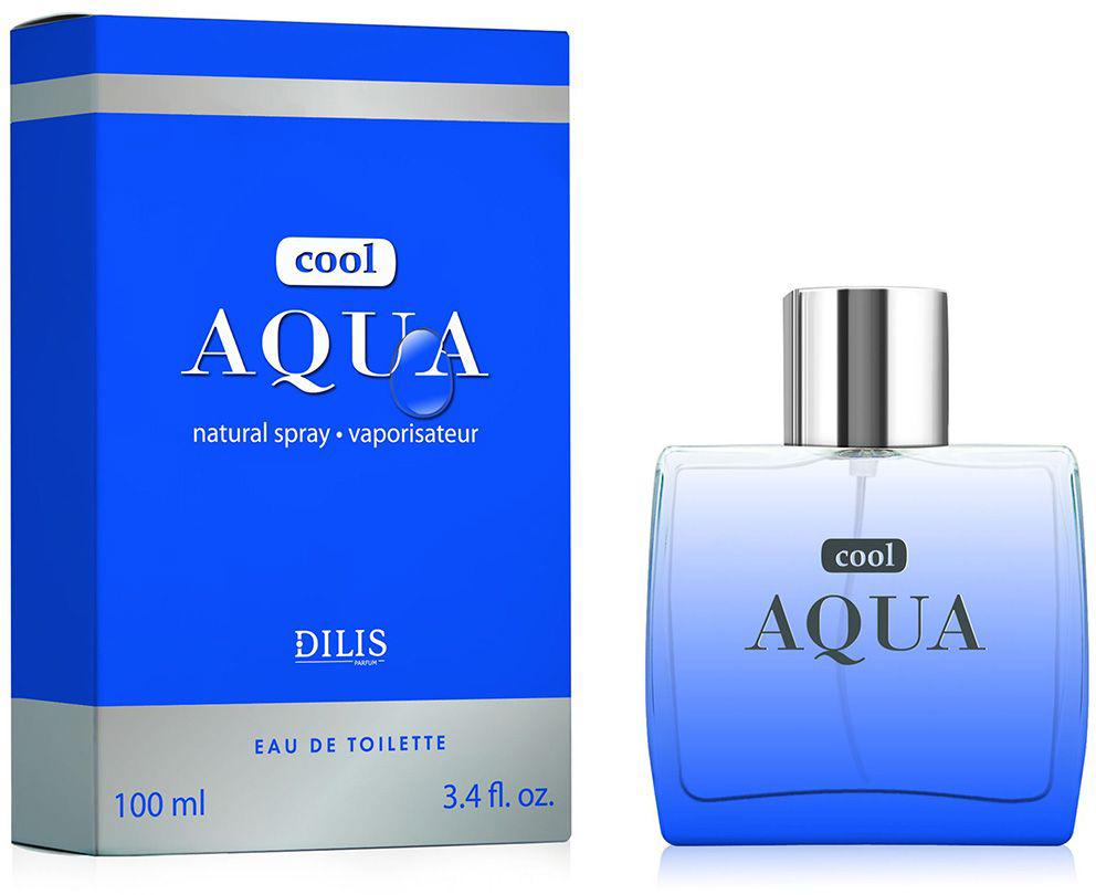 Dilis Туалетная вода мужская Cool Aqua, 100 мл
