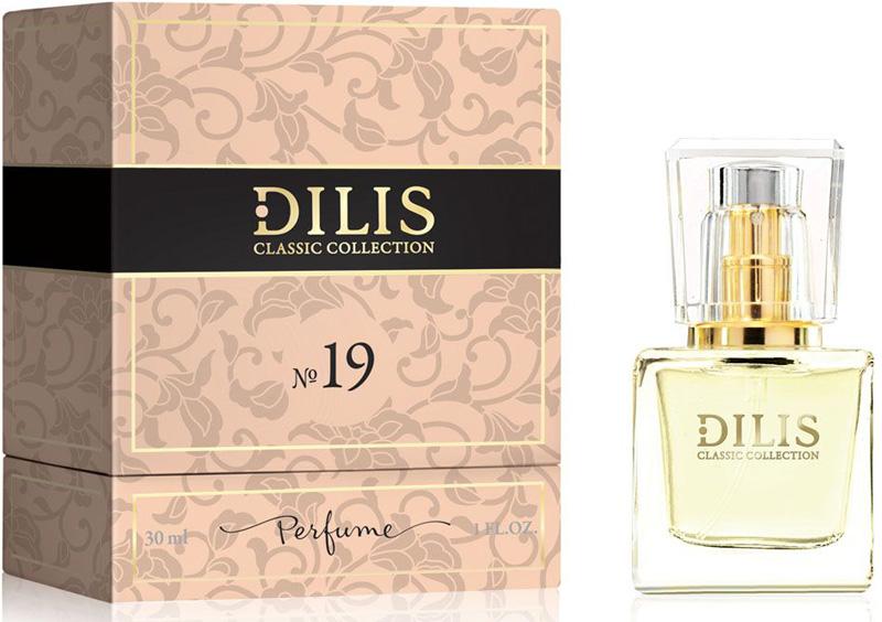 Dilis Духи экстра Classic Collection № 19, 30 мл духи dilis parfum духи dilis classic collection 26 30 мл
