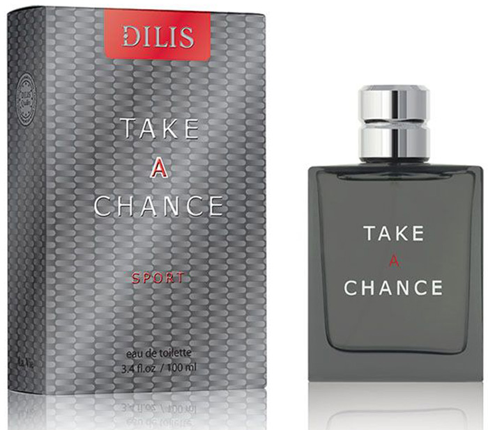 Dilis Туалетная вода мужская La Vie Take a Chance Sport, 100 мл туалетная вода take a chance sport 100мл dilis parfum