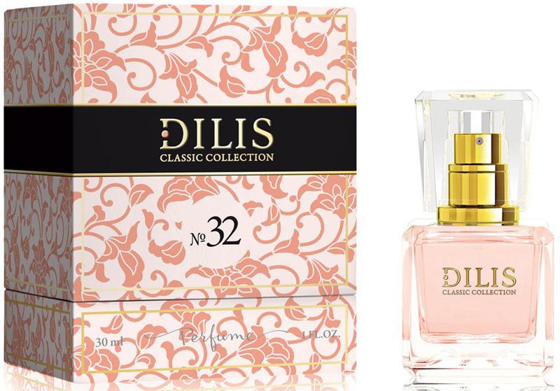 Dilis Духи экстра Classic Collection № 32, 30 мл духи dilis parfum духи dilis classic collection 26 30 мл