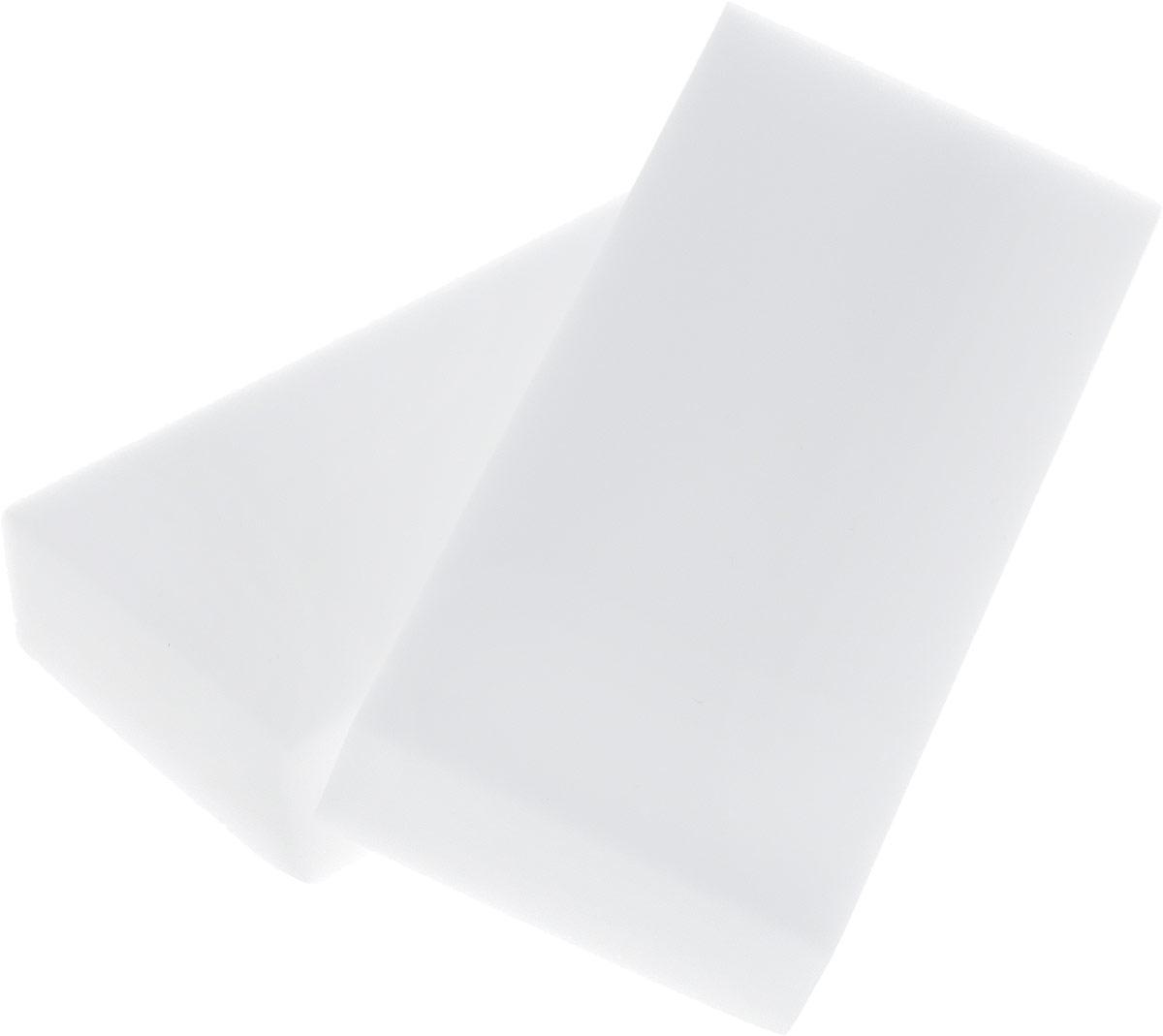 Губка меламиновая Фэйт Бэлла, цвет: белый, 2 шт1.4.01.070