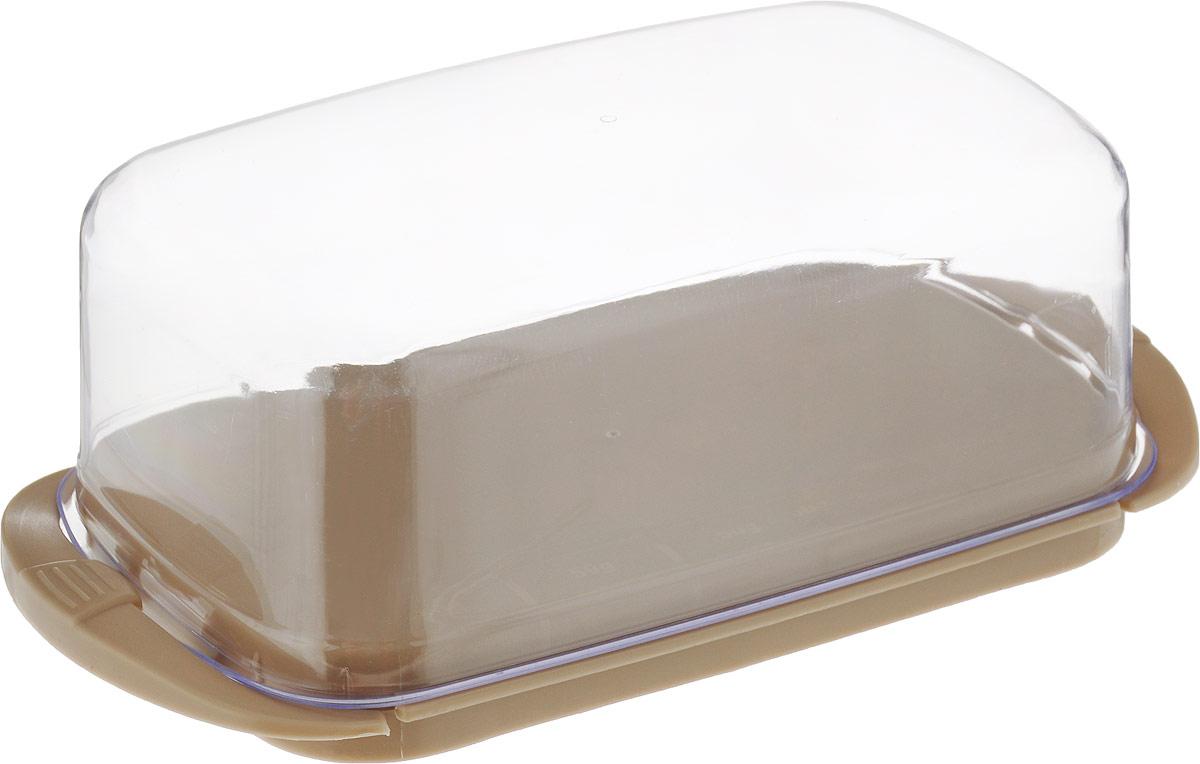 Масленка Giaretti, цвет: кремовый, 18 х 9,5 х 6,5 см игрушка triol столбик и туннель цвет кремовый коричневый 24 х 21 х 23 см