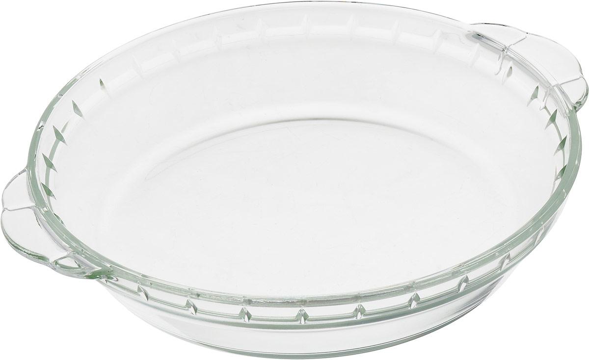 Материал: термостойкое стекло. Объем: 0,8 л. Толщина 4 – 5 мм. Подходит для использования в духовке (газовой или электрической), микроволновой печи, в холодильнике и морозильнике. Можно мыть в посудомоечной машине.