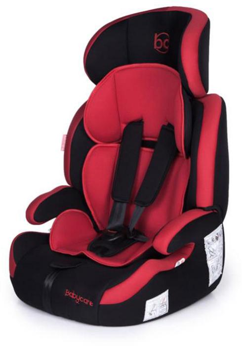 Baby Care Автокресло Legion цвет черный красный от 9 до 16 кг