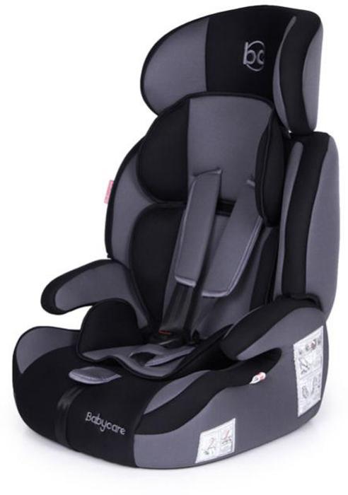 Baby Care Автокресло Legion цвет черный серый от 9 до 16 кг