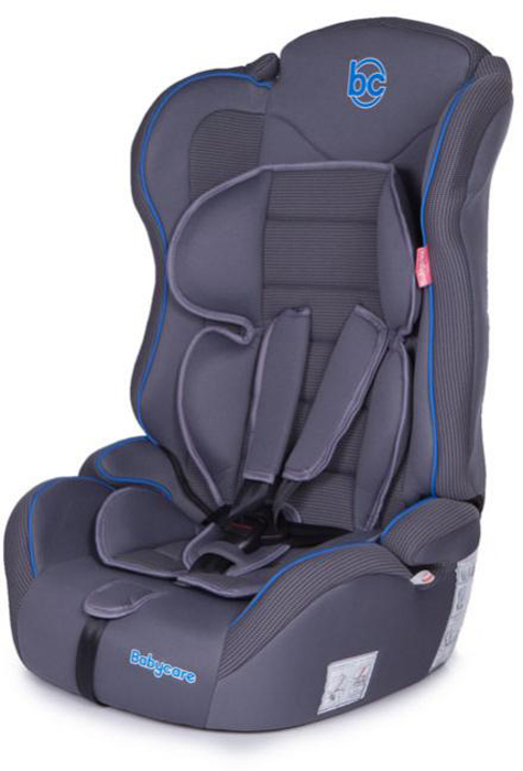 Baby Care Автокресло Upiter Plus цвет серый синий от 9 до 36 кг