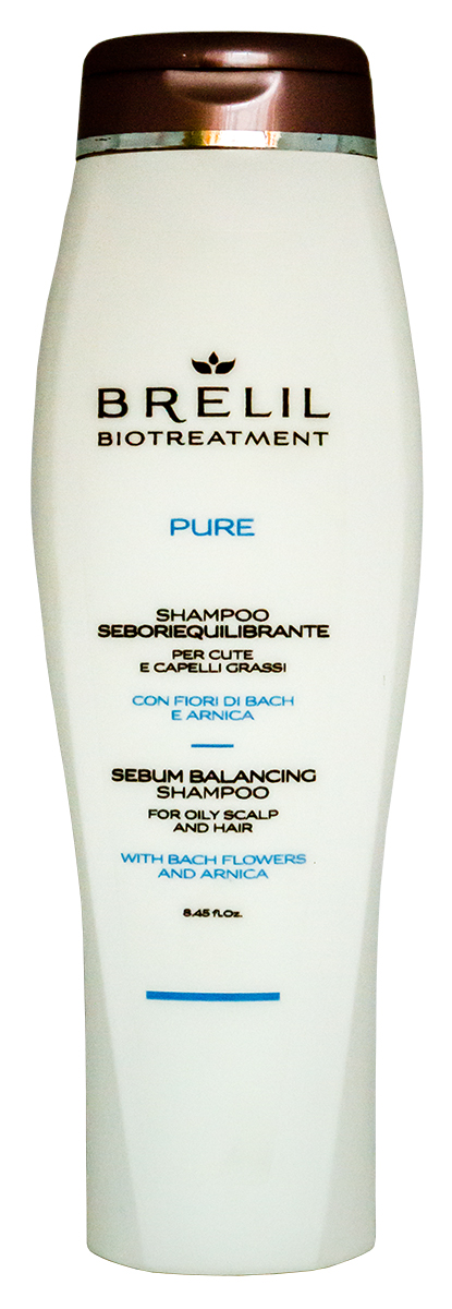 Brelil Bio Traitement Pure Sebum Balancing Shampoo Шампунь для жирных волос, 250 мл