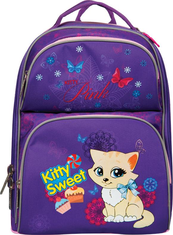 Фото - Berlingo Ранец школьный Medium Kitty Sweet рюкзак berlingo medium kitty sweet ru038040 254958