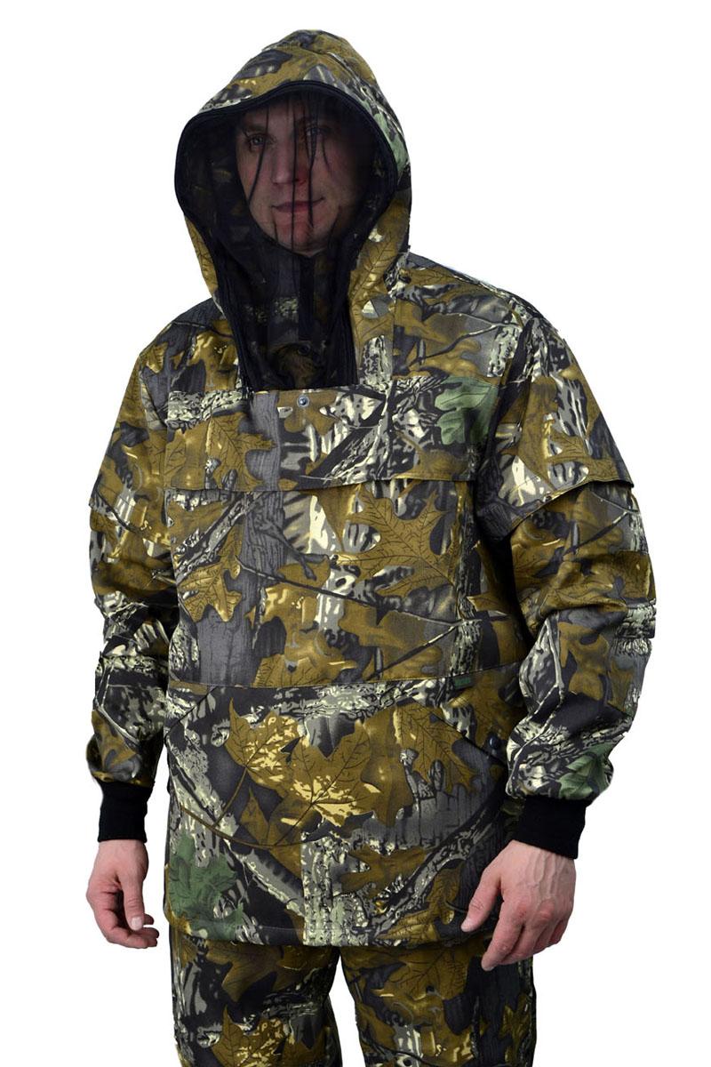 Костюм противоэнцефалитный мужской URSUS:  куртка, брюки, цвет:  оливковый, зеленый, серый.  КОС285-К29.  Размер 60/62-182/188 URSUS