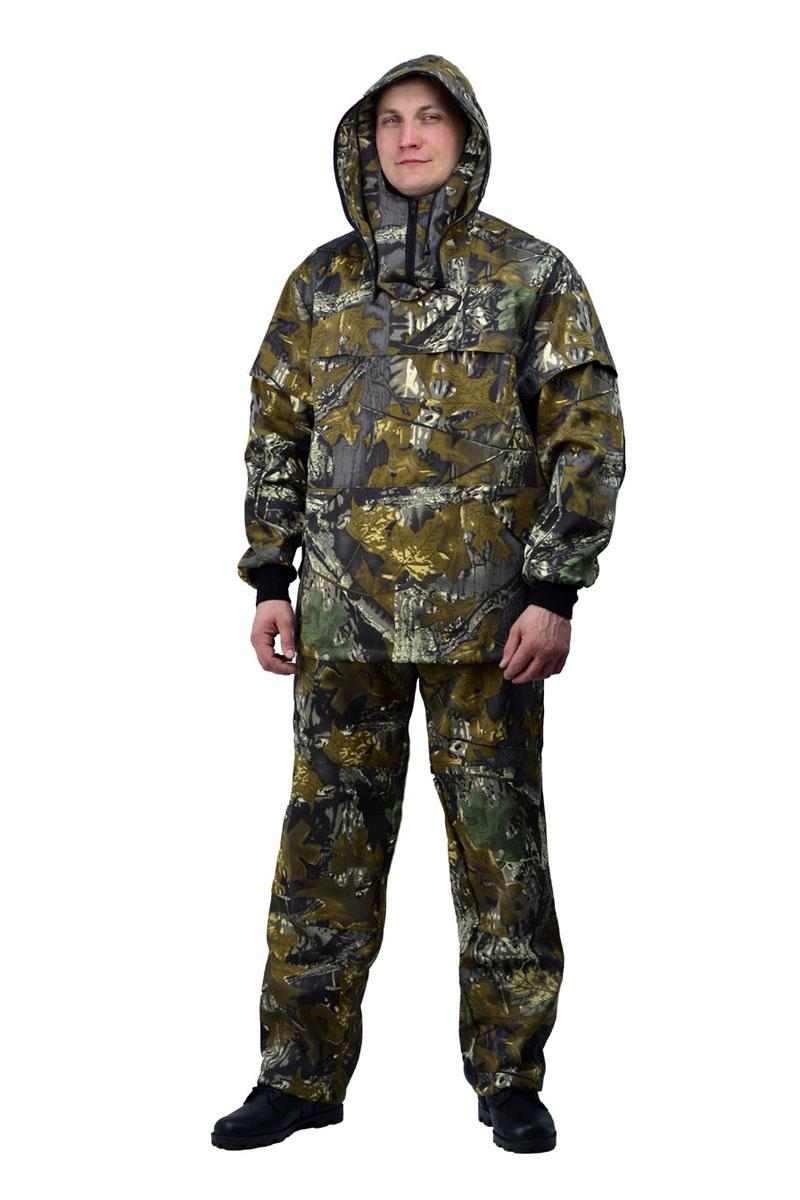 Костюм противоэнцефалитный мужской URSUS: куртка, брюки, цвет: оливковый, зеленый, серый. КОС285-К29. Размер 48/50-182/188