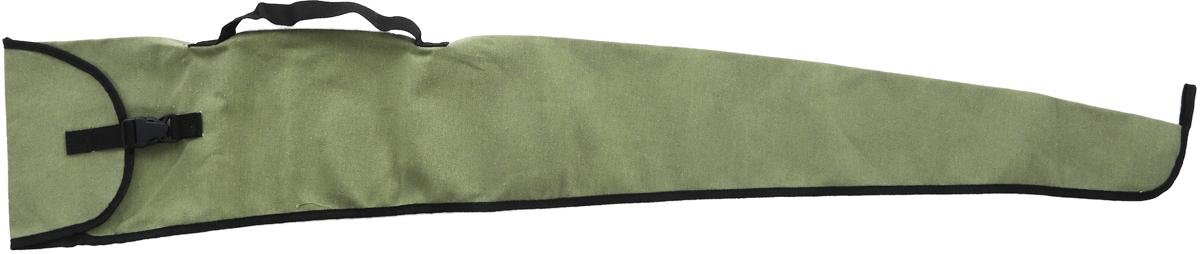 Чехол для рыбалки и охоты, цвет: зеленый, длина 135 см