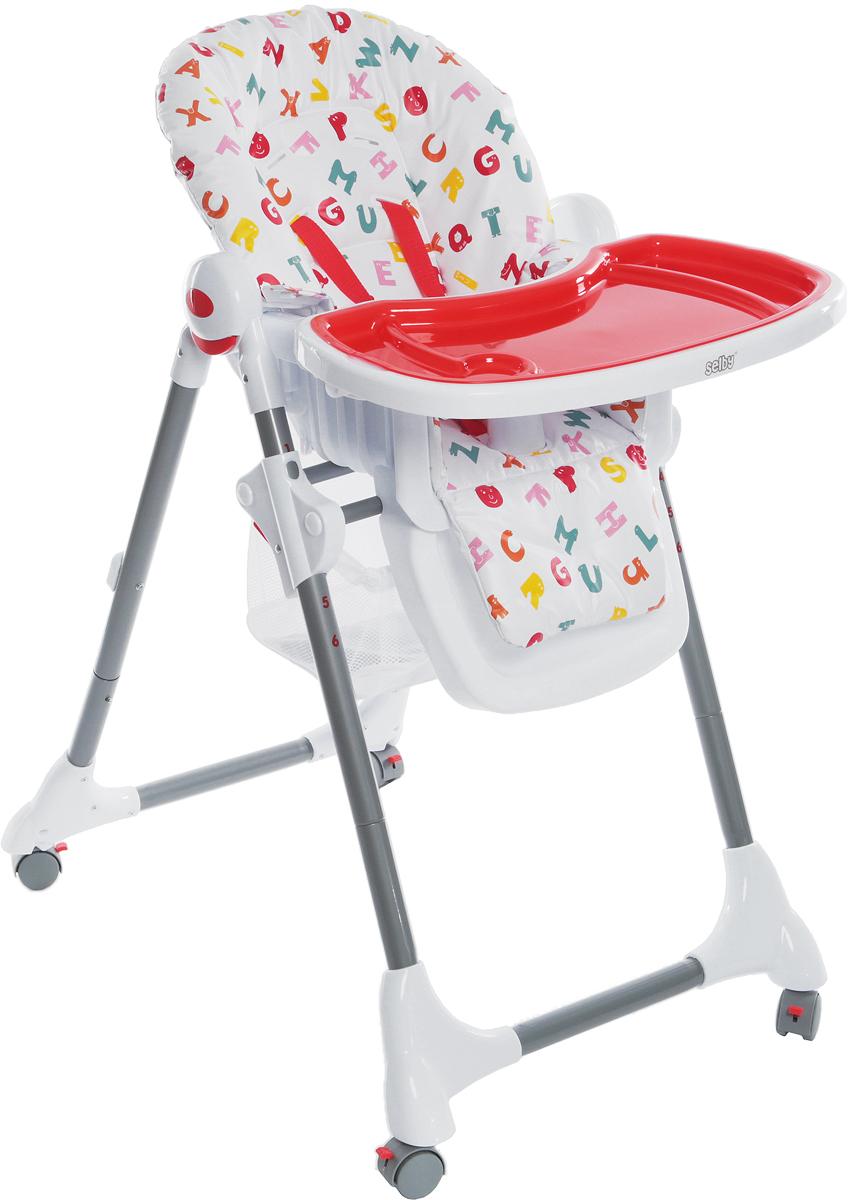 Стульчик для кормления Selby BH-431 (2) (11) красный evomove стульчик для кормления evomove nomi highchair
