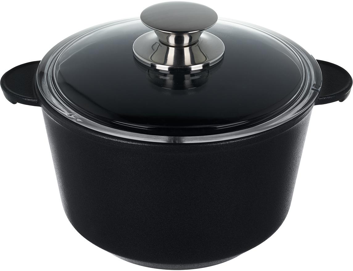 Кастрюля Renard Classic, с крышкой, 2 л посуда кухонная