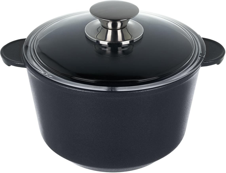 Кастрюля Renard Silver Grey, с крышкой, 2 л посуда кухонная