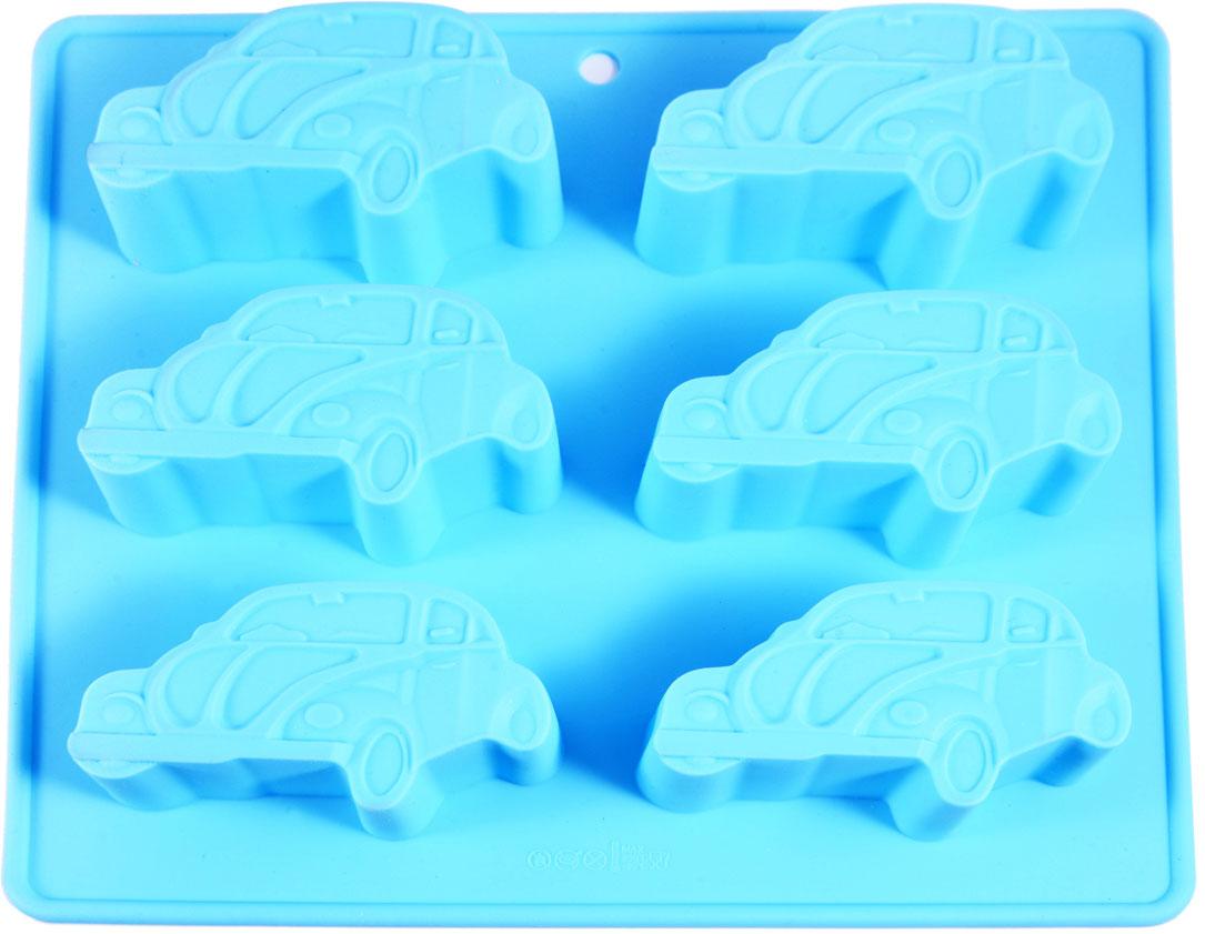 Форма изготовлена из 100% экологически чистого силикона. Формы из силикона имеют высокую теплопроводность, отличаются хорошими антипригарными свойствами, их не требуется смазывать маслом (кроме первого применения). Силиконовые формы выдерживают температуру от -40°С до +230°С, при этом не вступают в химическую реакцию с продуктами и не выделяют вредных веществ. Силиконовые формы не впитывают никакие запахи, легко моются, не бьются. Их легко и удобно хранить. Силиконовые формы отличаются многообразием форм и размеров, что способствует расширению творческих идей, а модные, яркие цвета создают праздничное настроение.