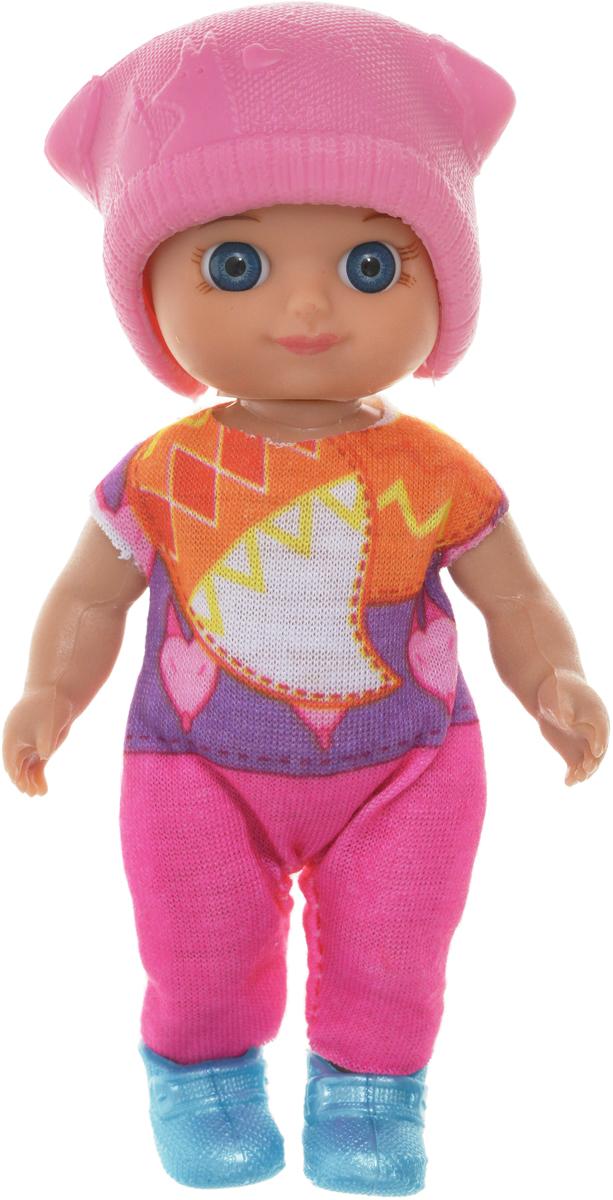 Veld-Co Мини-кукла Изабелла цвет розовый 51514