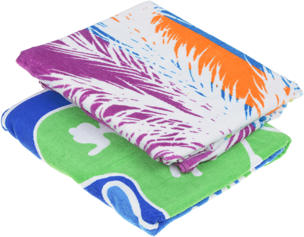 Набор пляжных полотенец