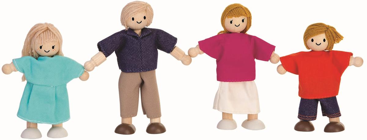 Plan Toys Кукольная семья
