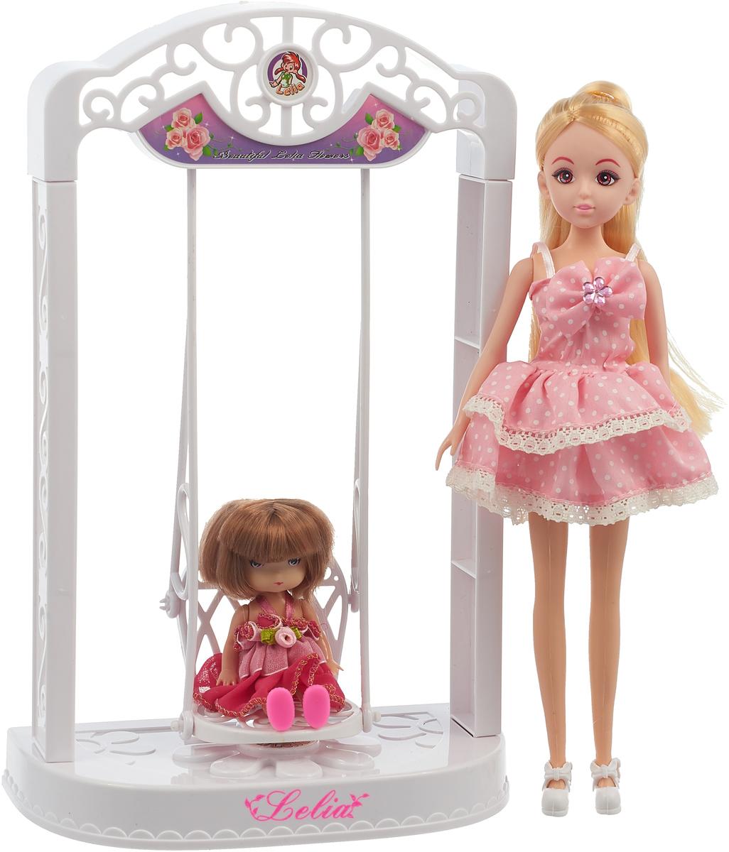 Bradex Кукла Лелия с качелями кукла yako m6579 6