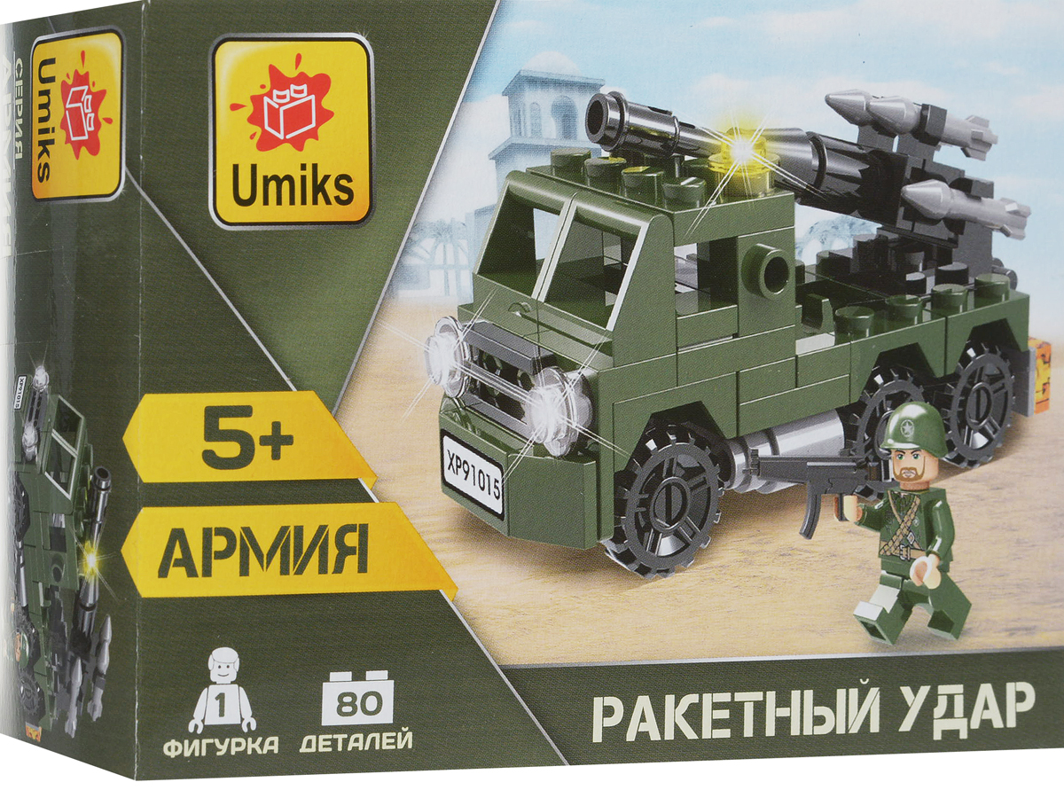 Umiks Конструктор Военная техника U0080/1